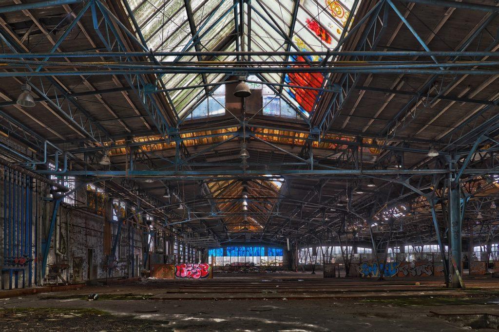 hangar de chantier