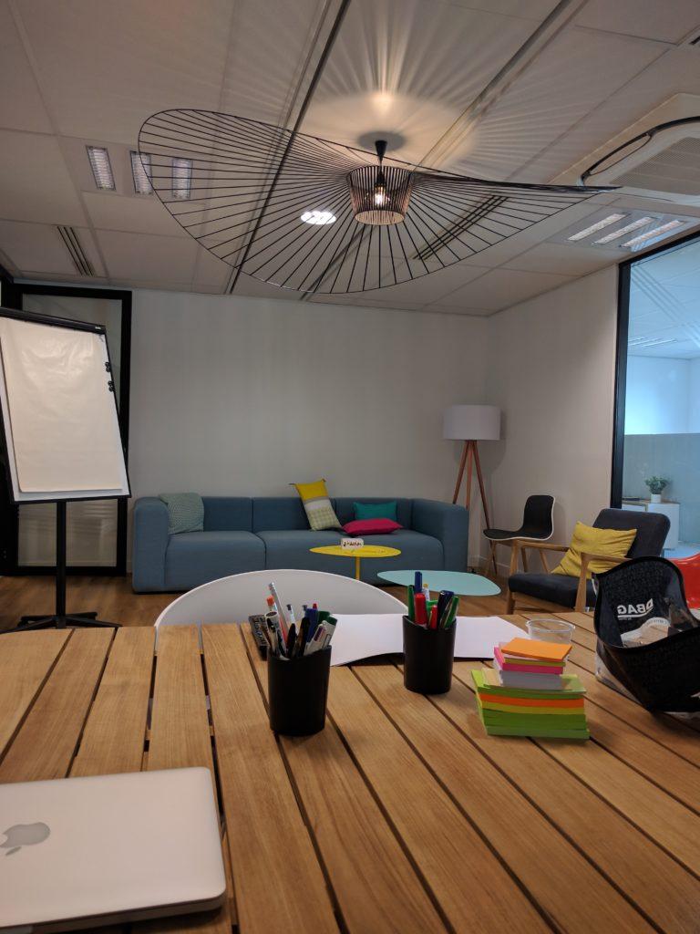 salle de réunion chez direct energie